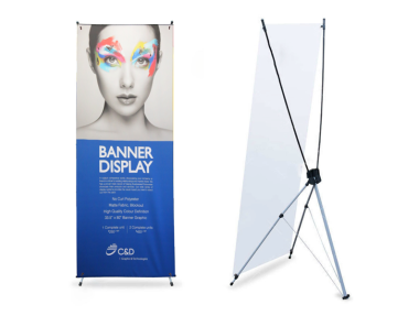 X-Stand Banner Display